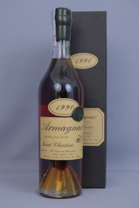 Armagnac Saint-Christeau Millesime 1988 year / Арманьяк  Сент-Кристо 1988