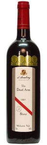 The Dead Arm Shiraz, d'Arenberg / «Мёртвая рука» Шираз, д'Аренберг