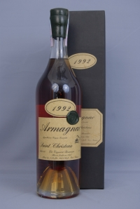 Armagnac Saint-Christeau Millesime 1993 year / Арманьяк  Сент-Кристо 1993