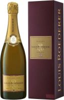 Louis Roederer,  brut /  Луи Родерер, брют Vintage 2005 in gift box.